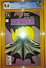 BATMAN #405 - CGC 9.6 NM+  WP - FRANK MILLER - YEAR ONE PART 2 - FREE PRIORITY