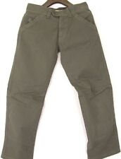 Authentic Belstaff Black Prince Mot-On Jeans Pants Military Green Denim EU 34