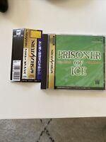 Rare Prisoner of Ice Sega Saturn SS Japan US seller