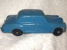 Tomte Laerdal Norway Blue Mercedes Rubber Toy Car #6 Nice Condition #JB