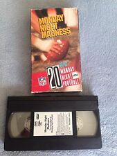 Monday Night Madness: The Very Best of Monday Night Football - VHS Video Tape