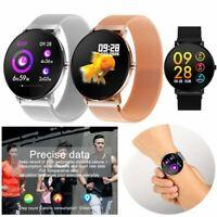 Smartwatch Wasserdicht Pulsuhr Blutdruck Sport Armband Für iOS iPhone Android