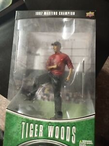 Tiger Woods 1997 Masters Champion Pro Shots Collectible Figurine In Box