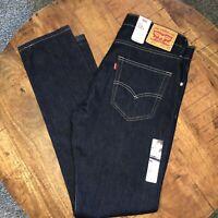 Levi's 512 Jeans Slim Taper Stretch Black 288330025 Mens 34x34