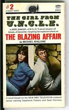 THE BLAZING AFFAIR, rare US Signet spy gga bondage UNCLE TV tie-in vintage pb