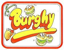 PANINARO FIGURINA BURGHY N.126 DI 144 PER COMPLETARE L'ALBUM EDIFUMETTO ANNI 80
