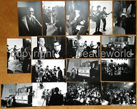 16 PHOTOS A HARDS DAYS NIGHT FILMING LONDON MARCH 64 SOLD WITH COPYRIGHT BEATLES