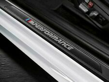 BMW OEM F32 F82 4 Series Coupe Carbon Fiber M Performance Door Sill Trim Pair
