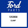 1253858 Ford Clamp 1253858, New Genuine OEM Part