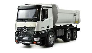 Mercedes LKW Kipper PRO Metall 2,4GHz RTR weiß