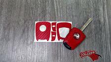 Red Carbonio Adesivo Decalcomania Vauxhall Astra Opel Corsa Vectra Meriva Tigra Zafira