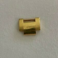 100% AUTHENTIC ROLEX OYSTER LINK 18kt SOLID YELLOW GOLD 15.5mm