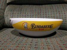 Bundaberg Rum Melamine NRL Football Chip Bowl - Bundy Bear - Cooler Holder Cap