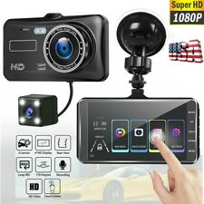 4 HD 1080P Car DVR Camera Dash Cam Vehicle Driving Recorder Dual Lens G-Sensor