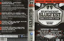 HEAVYWEIGHT SLUGFEST PACK - 4 DISC BOXING DVD SET - LIMITED COLLECTORS EDITION