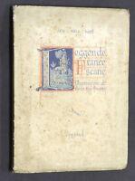 Religione - Maria Luisa Fiumi - Leggende francescane - 1^ ed. 1926