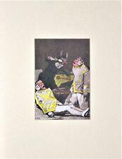 Salvador Dali Lithograph Les Caprices De Goya Antecedentes 1977