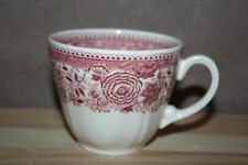 Burgenland Rot Tasse / Kaffeetasse hohe Form Villeroy & Boch