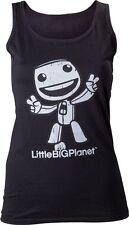 Ärmellose Damenblusen,-Tops & -Shirts mit U-Ausschnitt und Baumwolle ohne Mehrstückpackung