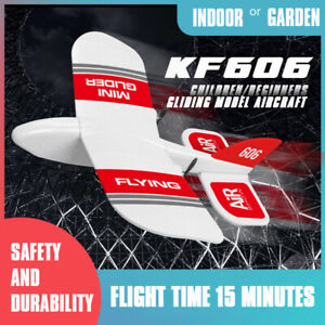 RC Glider Airplane 2.4Ghz 2CH Built-in Gyro RTF EPP Foam Mini Gliding Aircrafts