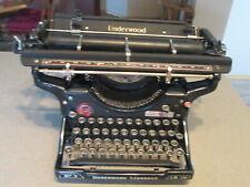 """Antique Underwood Standard Typewriter 14""""  No. 3"""