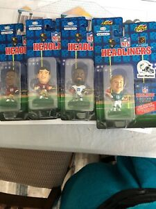 1996 Corinthian NFL Headliners Miami Dolphins Collectable Figurine Priced Each