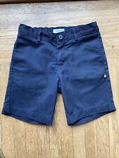 New listing Irvington by Dennis Uniform Shorts Navy Blue Flat Front School 8H