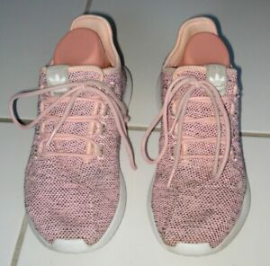 ADIDAS WOMEN'S PINK SNEAKERS ATHLETIC SHOES PYV 702001 SIZE US 8