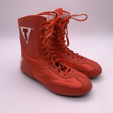 Title Mid-Length Boxing Shoes - Red Size Us 5 / Eur 37.5