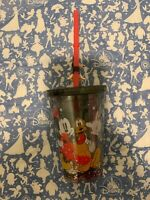 New Disney Mickey Mouse  Cup / Tumbler with Straw