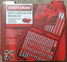 100-Piece Craftsman Drilling and Driving Accessory Kit (31639) ACM1001 New!