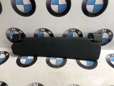 BMW E85 Z4 Roadster - O/S Driver Side Right Black Vinyl Sun Visor 7016666
