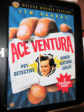 Ace Ventura Deluxe Double Feature (DVD,2006,3-Disc Set) Includes Animated Series