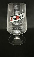 Single San Miguel Pint 20oz Glass Brand New 100% Genuine
