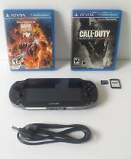 Sony PS Vita PCH-1101 3G and WIFI w/ 3 games - 8GB CARD - FREE SHIPPING -