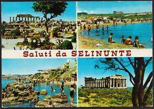 AD4247 Saluti da Selinunte (TP) - Vedute - Cartolina postale - Postcard