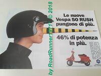 VESPA 50 RUSH PIAGGIO__pubblicità originale del 1988_advertising_werbung