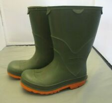 Lands End Boots Green Rain Boots Size 12 Boys