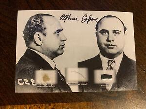 Al Capone Hair Strand Lock Relic & Worn Piece & Dirt Mafia Chicago Gangster