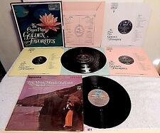 #187 Lot The Organ Plays Golden Favorites 4 LPs+Mystic Moods Orchestra Nighttide