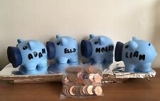 PERSONALISED SOFT NOSE TODDLERS FIRST PIGGY BANK