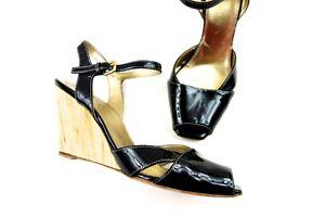 PRADA Shoes Prada Summer Wedges Designer Shoes size 37.5