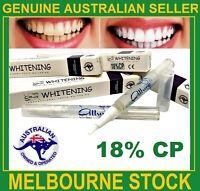 Teeth Whitening 18%CP Gel Pen Australian Brand Strongest Legal Formula Home Use