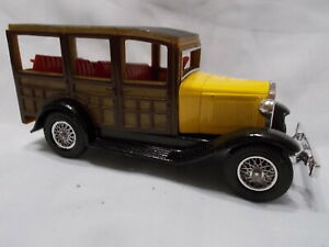 MATCHBOX MODELS OF YESTERYEAR Y21-1 1930 FORD MODEL A WOOD WAGON  ISSUE 4*