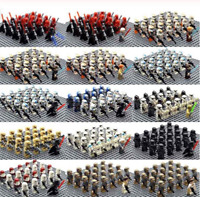 21 PCS lego MOC Trooper Clone trooper Imperial Inquisitor & Weapon Star War 2020