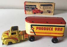 VINTAGE 1950s ALL METAL PRODUCTS CO (USA) 481 TIN PLATE  WYANDOTTE TRUCK VAN-VGC