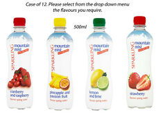 GAY PRIDE MOUNTAIN MIST SPARKLING WATER CASE 12 500ml BOTTLES LUNCHES PICNICS