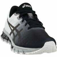 ASICS Gel-Quantum 180 4  Womens Running Sneakers Shoes    - Black,White - Size