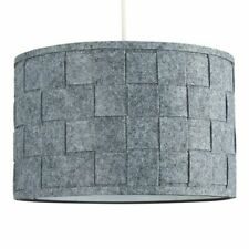 Modern Non Electric Ceiling Pendant Shade Drum Weave Large Bedroom Home Light