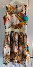 Designer Molo Parrot Party Dress